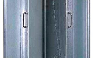 Constar Dušikabiin ET 006 RF madala dušialusega kolmes mõõdus 80x80, 90x90, 100x100