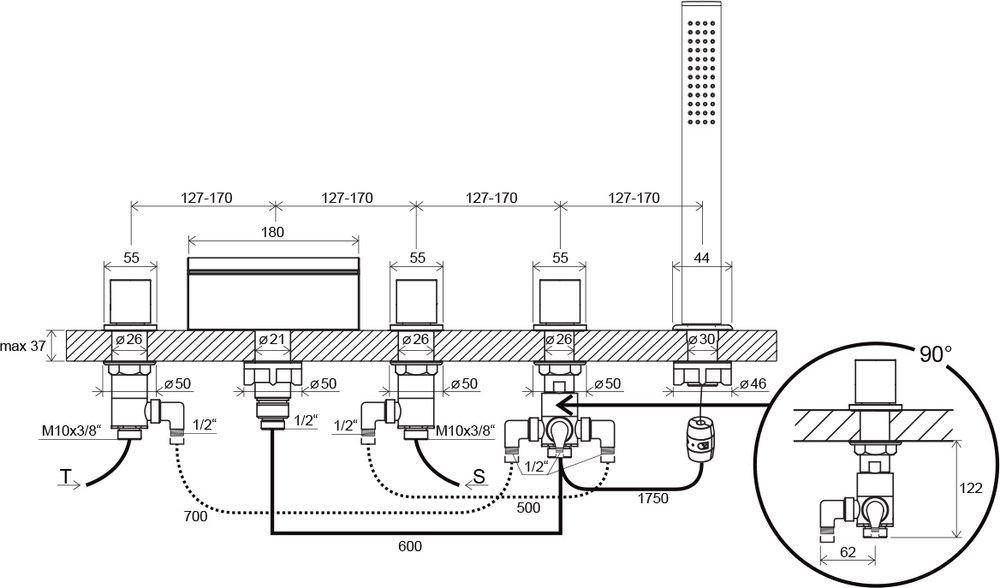 WF 025.00 tehniline joonis