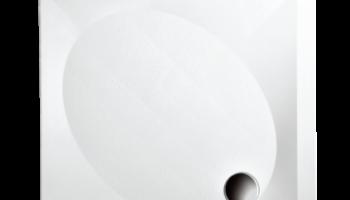 UUS! Paa Dušialus ART 80x80 valge läikiv