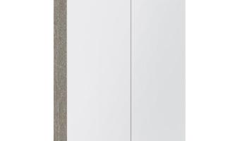 Kame valgustatud sokliga,koos integreeritud alusvalgustusega peegelkapp Vetro 60x20x71