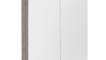 Kame valgustatud sokliga,koos integreeritud alusvalgustusega peegelkapp Vetro 80x20x71