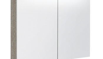 Kame valgustatud sokliga,koos integreeritud alusvalgustusega peegelkapp Vetro 100x20x71