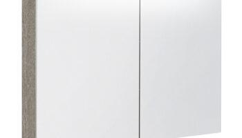 Kame valgustatud sokliga,koos integreeritud alusvalgustusega peegelkapp Vetro 120x20x71