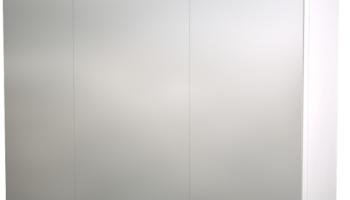 RB -Raguvos Baldai scandic LED-valgustiga peegelkapp 100×70