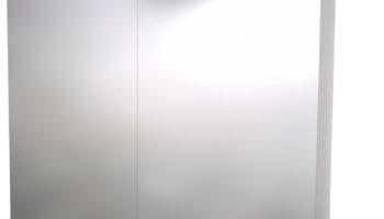 RB -Raguvos Baldai Scandic LED-valgustiga peegelkapp 80×70