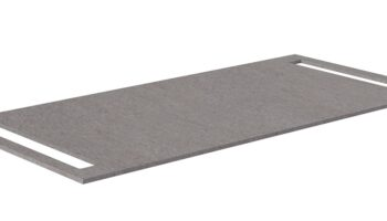 Kame HPL ümberpööratav kompaktne tööpind kahe käterätikuhoidikuga 100x46