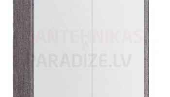 Kame valgustatud sokliga, koos integreeritud alusvalgustusega peegelkapp Natura Vetro 60x20x71