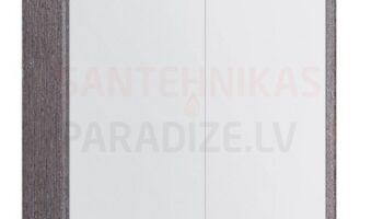Kame valgustatud sokliga, koos integreeritud alusvalgustusega peegelkapp Natura Vetro 80x20x71