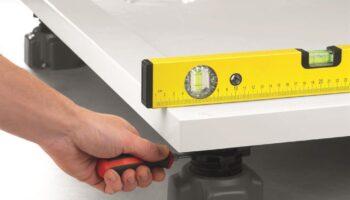 Radaway dušialuse reguleeritavad jalad NB003-W1. Kõrgus kuni 17cm!